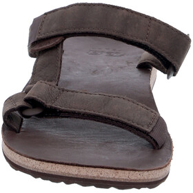 Teva Universal Slide Leather Sandali Uomo, brown